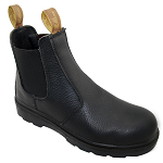 Rollins Elastic Sided Steel Cap Work Boot