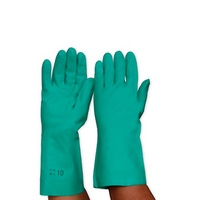 Green Nitrile Chemical Resistant Gloves (RNF15)