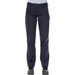 Ladies Cotton Drill Cargo Pants (1007)