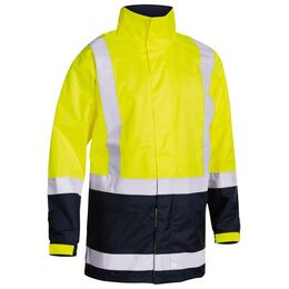 Bisley BJ6966T Taped HiVis Rain Jacket (Shell)