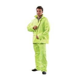 PROCHOICE HiVis Rain Jacket and Pants - Yellow (RSHVY)