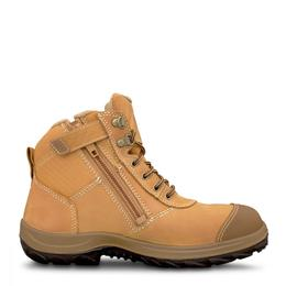 OLIVER Zip Wheat Safety Boots (34-662)