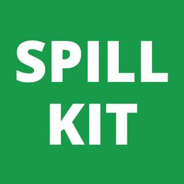 Sticker - Spill Kit - 100mm x 100mm