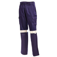 WORKIT 1003 Cotton Drill Reflective Cargo Pants - 77R