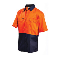 WORKIT 2008ON - Short Sleeve Hi Vis Lightweight Shirt