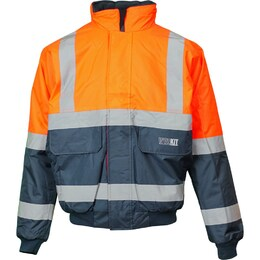 WORKIT HiVis 2 Tone Wet Weather Bomber Jacket (3003)