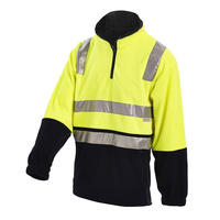 WORKIT HiVis 2 Tone Reflective Polar Fleece Jumper (3501)