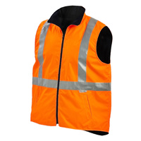 HiVis 2 Tone Reversible Vest with Reflective Tape (7501)
