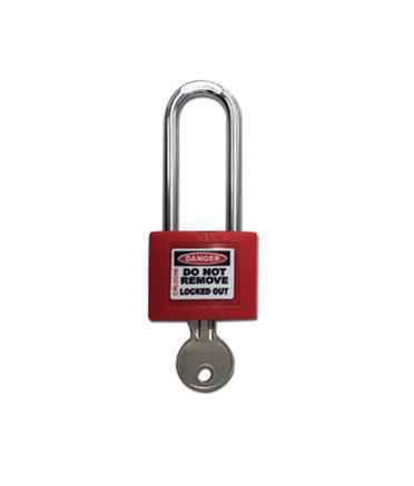 CIRLOCK 50mm Lockout Lock - Red - Individually Keyed