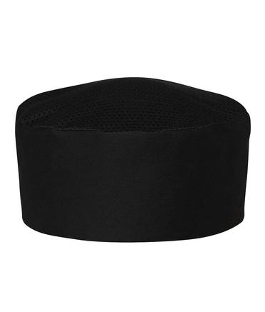 JB's Elasticised Chef Cap - Black