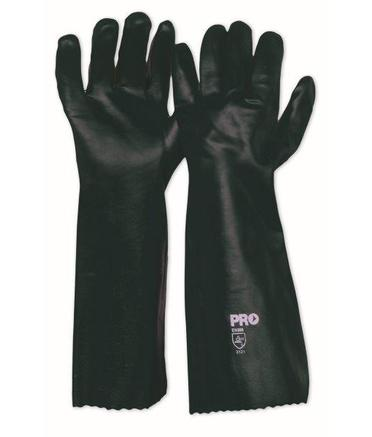 45cm PVC Double-Dipped Gloves