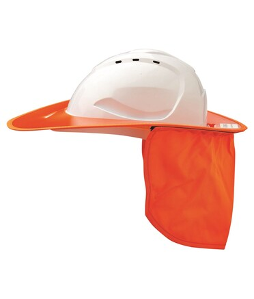 PROCHOICE V9 Hard Hat Plastic Brim - Orange